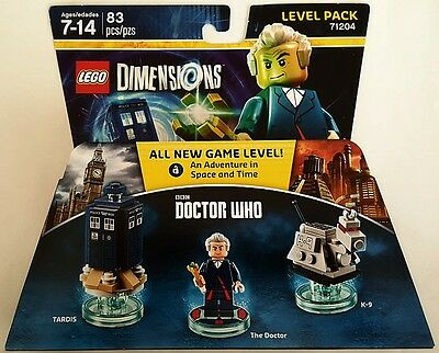 New Lego Dimensions Level Pack Bbc Doctor Who 71204 Free Worldwide Shipping