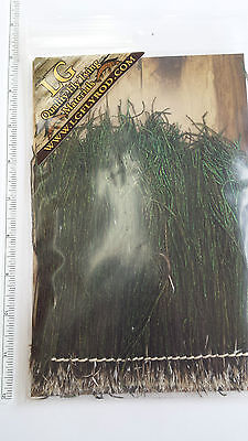 """LOT of STRUNG PEACOCK HERL 5-7""""  big pkg.    FLY TYING must have for every tying"""