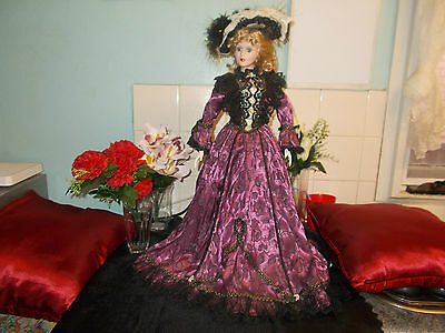 Hillview Lane *kitty* 22Inch Fine Bisque Porcelain Limited Collectors Doll.