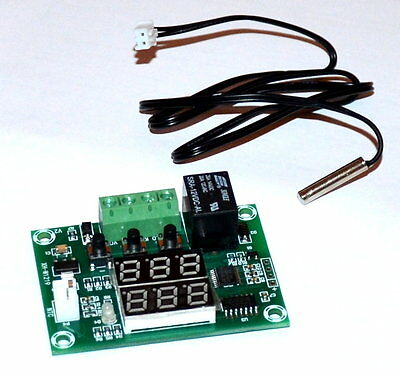 DC12V -50 to110℃ Dual LED Display Relay Temperature Controller Switch Thermostat