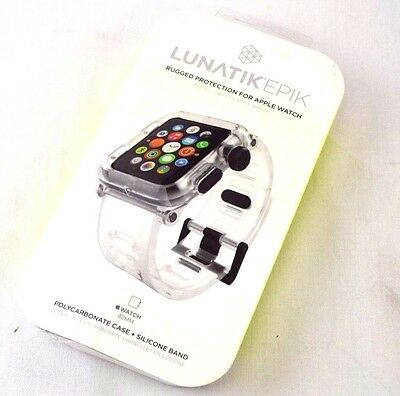 Lunatik Epik Case & Band for Apple Watch 42mm - Clear - DH48