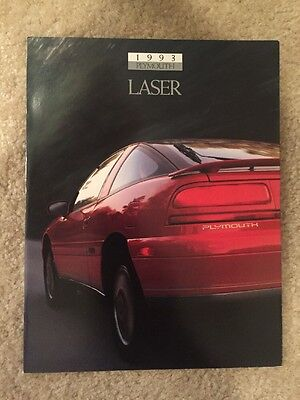 1993 Plymouth Laser Sales Brochure (Talon, Eclipse)