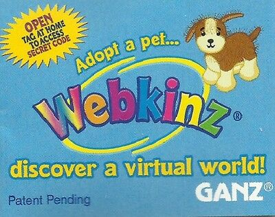 Webkinz 3 FOR 9.99 *CODE TAG ONLY*