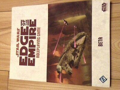 Star Wars Edge Of Empire Roleplaying game Beta Edition