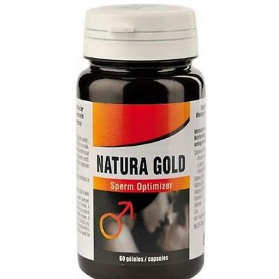 Stimulants Massive Sperm Optimizer 60 gélules Natura Gold Natura Gold