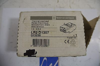 Telemecanique LR2D1307 Thermal Overload Relay - NEW IN BOX