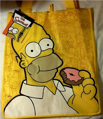 The Simpsons  Official Vintage Movie Shopping Bag
