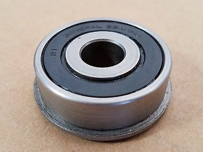 """FLANGED GENERAL BEARING 7/16"""" ID x  1 3/8"""" OD / LOT OF 4"""