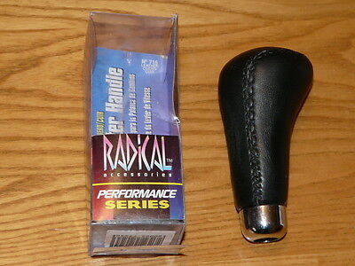 New 1997 Never Been Use - Shift Knob Shift Handle Black Leather