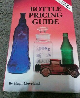 1980 Bottle Pricing Guide by Hugh Cleveland Hardcover Revised Edition