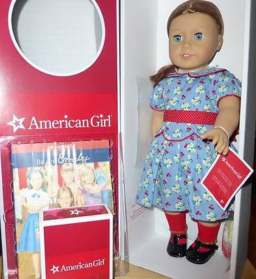 """American Girl Emily 18"""" Doll & Paperback Book, And Accessories New In Box"""