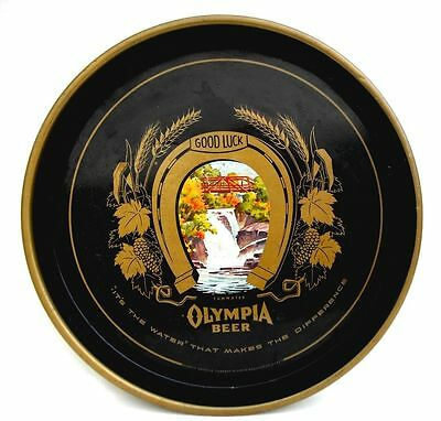 Handsome Vintage Olympia Beer Tray