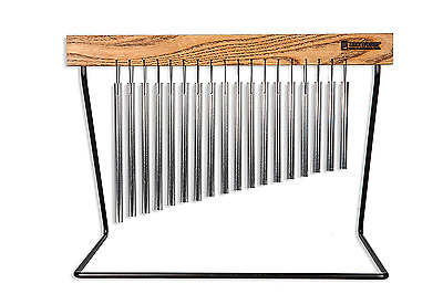 TreeWorks Chimes TRE421 Medium Table Top Bar Chime with Stand, Made in the U.S.A