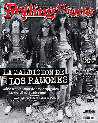 THE RAMONES - Rolling Stone Magazine Argentina April 2016