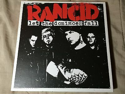 RANCID Let The Dominoes Fall Box Set 3xLP 2xCD DVD Poster Book NOFX Green Day