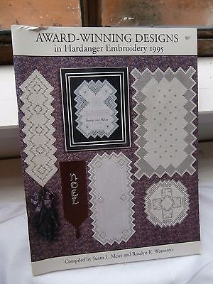 Vtg Award Winning 1995 Hardanger Embroidery Designs Susan Meier 44 pages