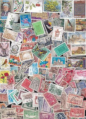 ALGERIA 135 different lot (with recent up to 2014)