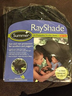 Summer Infant Rayshade Sun & Bug Shade Protection Extension Fits Most Strollers