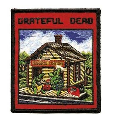 "Grateful Dead Terrapin Station Iron On Patch 3 3/4"" x 3 1/4"" Licensed P1970"