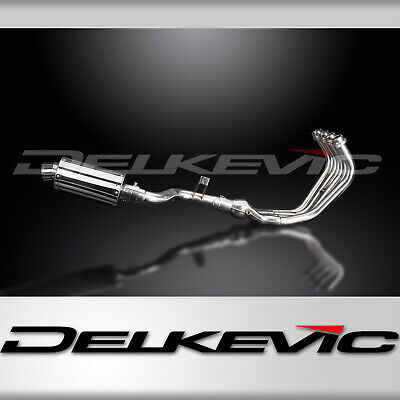 Delkevic Yamaha Exhaust Silencers XJ6 304 Stainless Steel 225mm