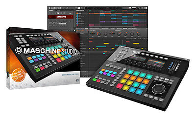 Native Instruments Maschine Studio, Schwarz (NEU)