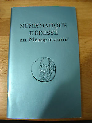 Book / Catalogue : Numismatique d'Édesse en Mésopotamie Ernest Babelon