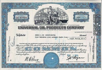 Universal Oil Products Company, 1975 (4.945 Shares)