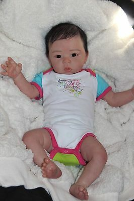 CUSTOM ORDER Asian Baby Girl Eleanor Eleanor Anne by Laura Tuzio-Ross