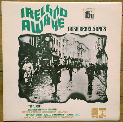 THE FLINGELS: Ireland Awake - Irish Rebel Songs // 1969 LP // Irish Folk // IRA
