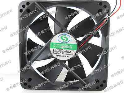 Ventola case 12cm 120mm DC Brushless Fan DF1202512SEL chassis 12 120