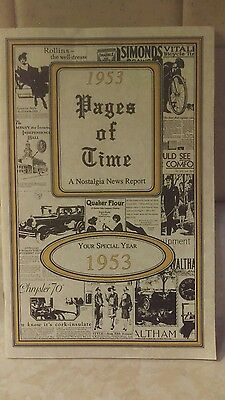 1957 PAGES OF TIME A NOSTALGIA NEWS REPORT
