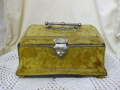 Vintage Decorative Jewellery Box. Handmade From Cadbury Cocoa Box.