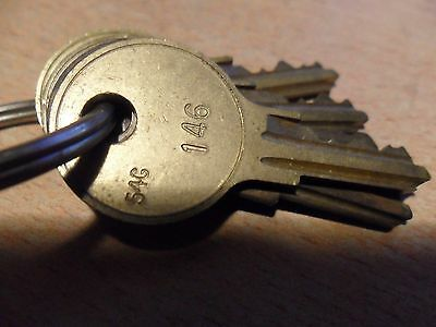 Fort Lock Replacement Key 54G 146 Arcade Video Coin Operated Vending Slots