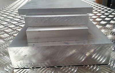 5mm 6mm & 8mm Thick Aluminium Plate  x 100mm 200mm 250mm 300mm 400mm 500mm wide