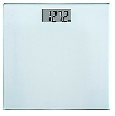 Electronic Digital Glass Body Bathroom Scale 180KG Gym Weight black glass colour
