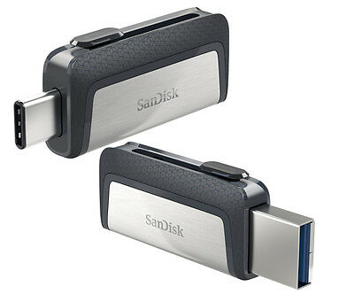 SanDisk 32GB 64GB 128GB 256GB OTG USB-C TYPE-C Flash Pen Drive lot Memory Stick