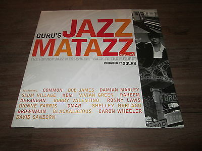 2xVinyl LP Set • GURU'S JAZZ MATAZZ VOL. 4 • 7 Grand Records • 2007