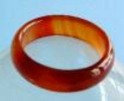 New Rare Red Jade Ring (Various Sizes)
