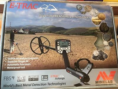 2nd hand Minelab Etrac (3 Months Warranty) - Detecnicks Ltd