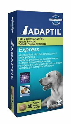 Adaptil Express (Stress Relief Now Tablets) - 40 Pack