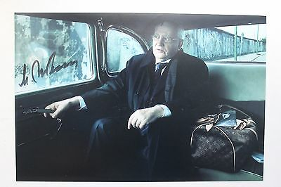 Mikhail Gorbachev Signed A4 Rare President Russia Photo Proof Person Autograph