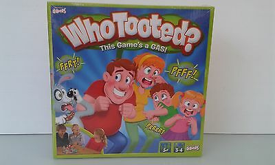 Who Tooted board game. Brand New.