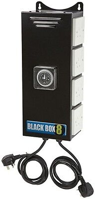 Black Box 26A Contactor Relay Built In Timer Switch Hydroponics 2 4 6 8 way