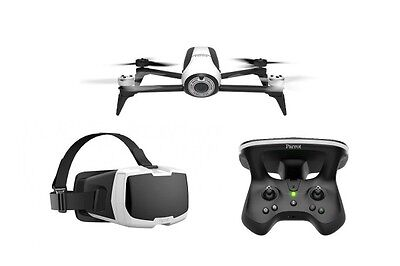 Parrot Bebop 2 Drone-White With Sky Controller 2 and FPV Headset
