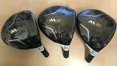 NEW TOUR ISSUE TaylorMade M2 3HL Fairway Wood HEAD ONLY - with Headcover