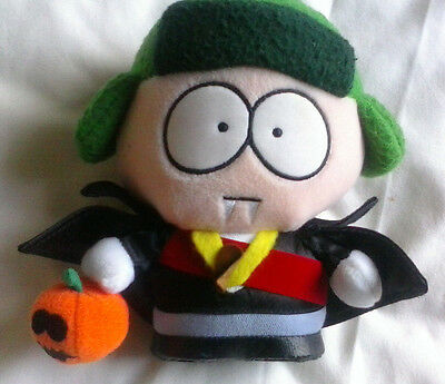 SOUTH PARK 6 inch Kyle Halloween Limited Edition - soft plush toy 1998
