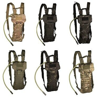 Hydration Pack Laser Cut 2,5L Shirt Military Outdoor Camping Wandern Airsoft