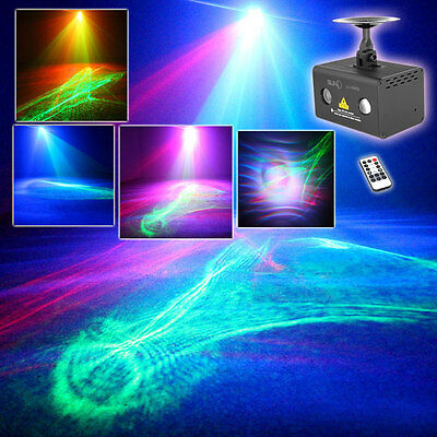 SUNY RG Laser Aurora Projector Lights Mixed RGB LED Party DJ Show Stage Lighting