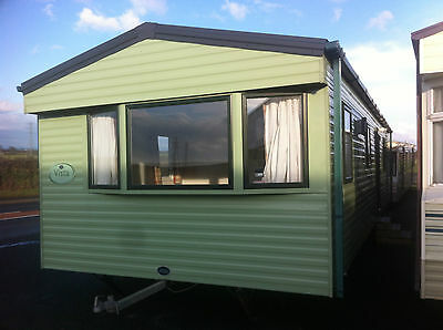 2011 willerby vista static caravan 35' by 12' central heating double glazed