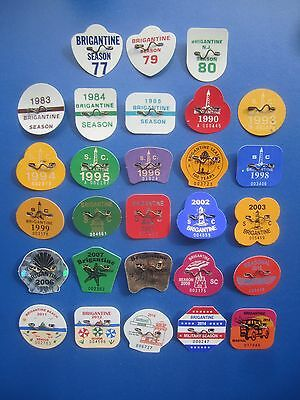 Rare   30   Year   Collection   Brigantine   New   Jersey   Beach   Badges/tags